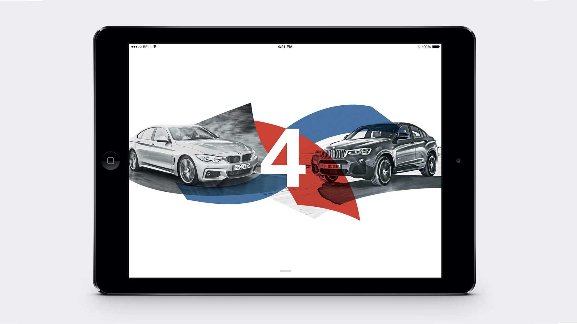 BMW iPad App